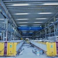 建安盛腾科技预制预应力双T板生产线