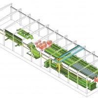 结构型构件生产线