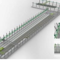 长台模叠合楼板生产线