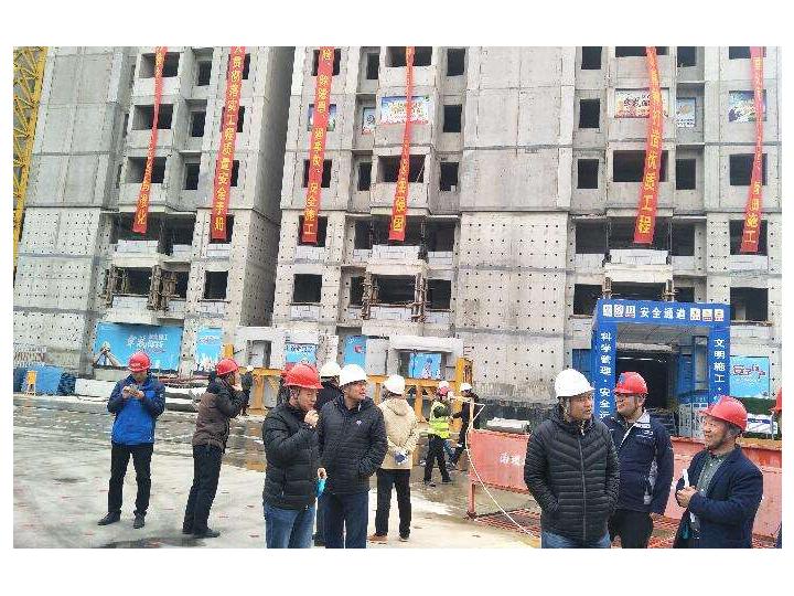 河南省首个公开招标的装配式建筑将封顶