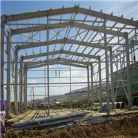 河北生产厂家钢结构厂房生产车间大宽度厂房三和