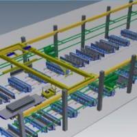 混凝土预制楼梯生产线