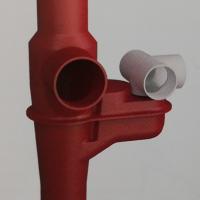 同层排水单立管铸铁导流三通连体地漏