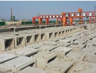 河南许昌市劳动路项目装配式PC构件即将批量交付