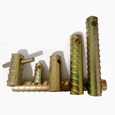 PC建筑配件螺纹钢套筒M12-M24预埋件S19吊钉吊桩套筒
