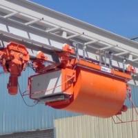 混凝土运输系统
