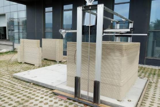 混凝土3D打印系统 3d打印构件