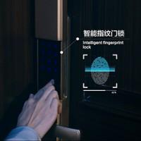 智能指纹门锁