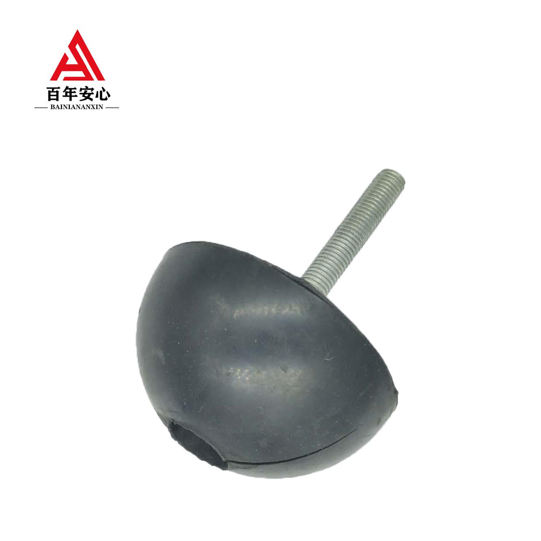 橡胶波胶球 圆头吊钉保护模 橡胶半球 PC装配式用波胶
