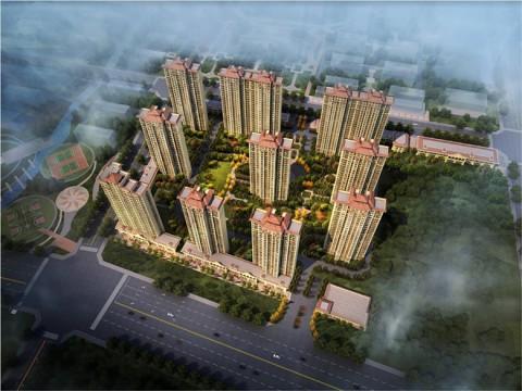 河北省高碑店市米兰花园项目
